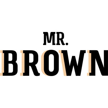 Mr. Brown Logo