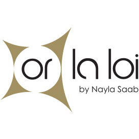 Or La Loi By Nayla Saab Logo