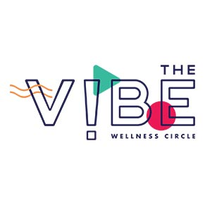 The Vibe Wellness Circle Logo