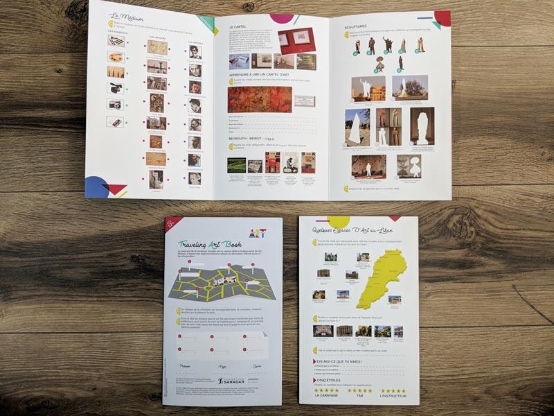Traveling Art - Booklet - Inside
