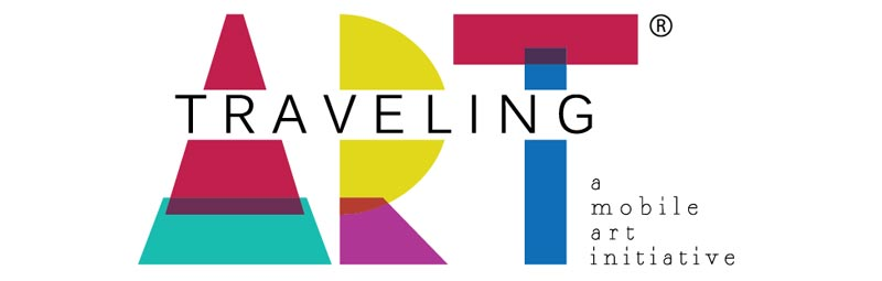 Traveling Art - Logo