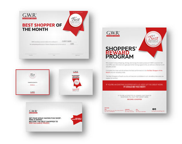 GWR Customer Service - Shopper Program Communications