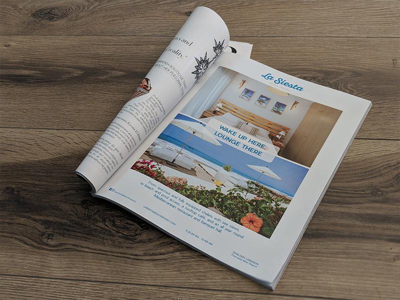La Siesta - Chalets Campaign - Press Ad
