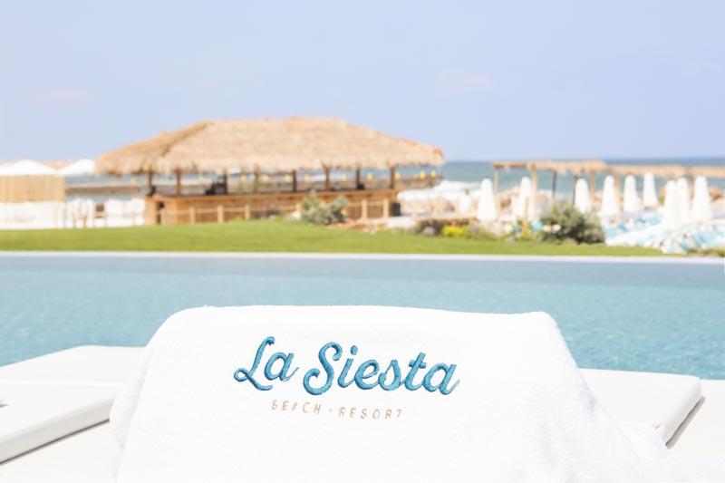 La Siesta - Logo on Towel