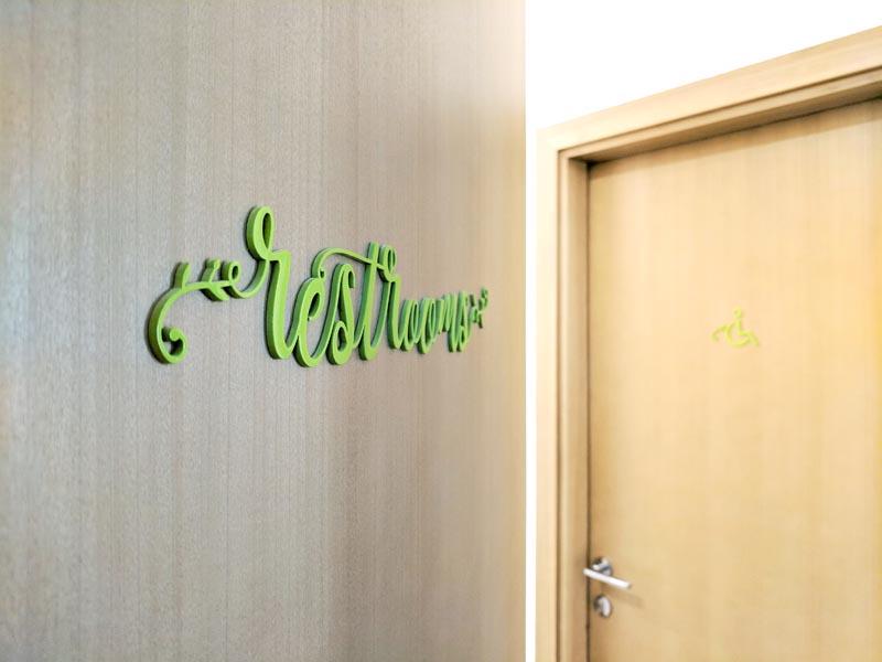 Mediterraneo - Toilet Signs