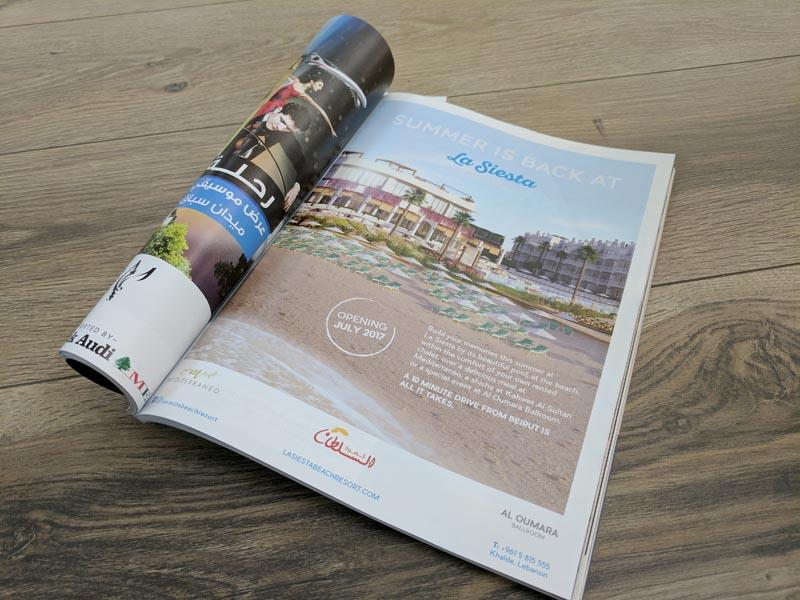 La Siesta - Launch Campaign -  Press Ad