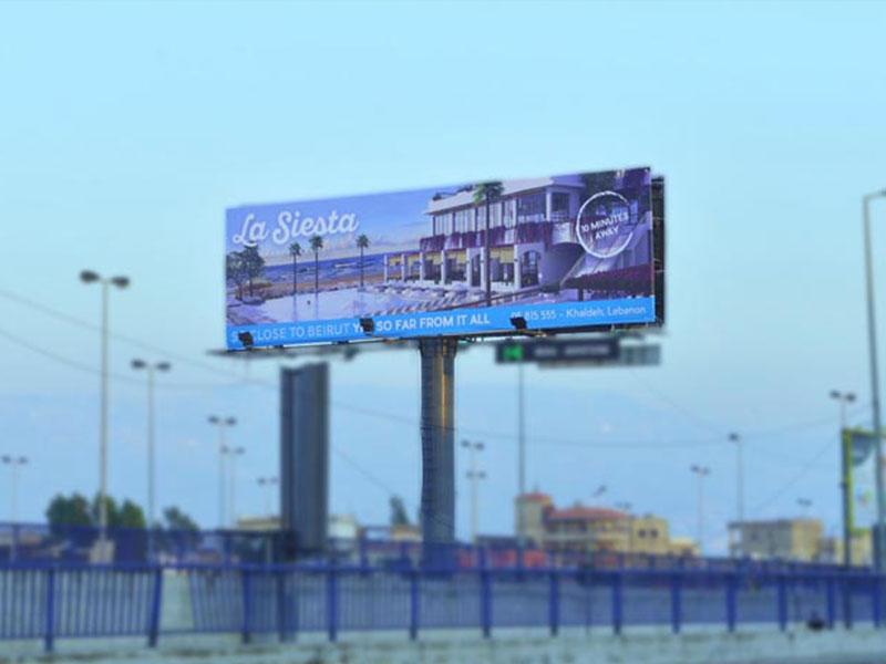 La Siesta - Launch Campaign - Unipole