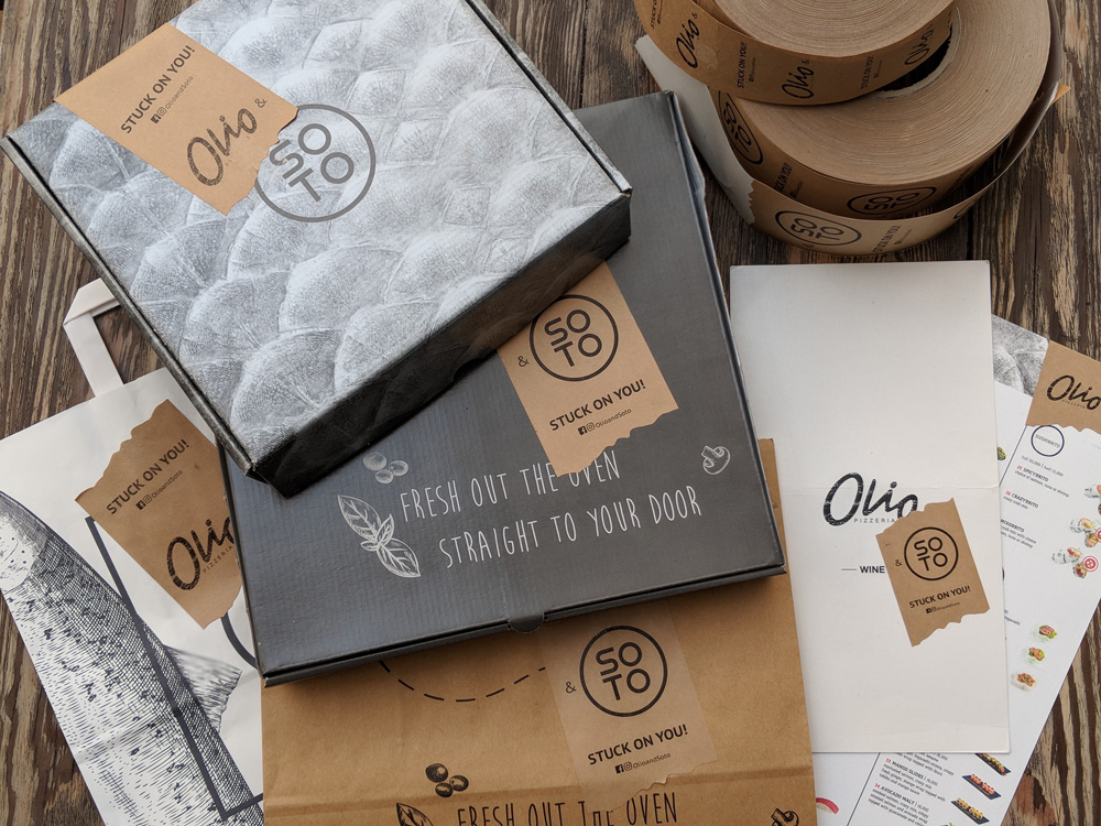 Olio & Soto - Stuck On You - Packaging