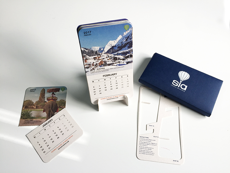SIA - End Of Year Gift - Calendar