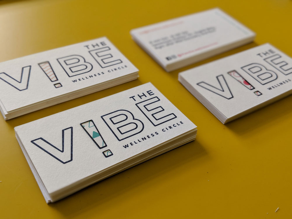 The Vibe - Business Cards