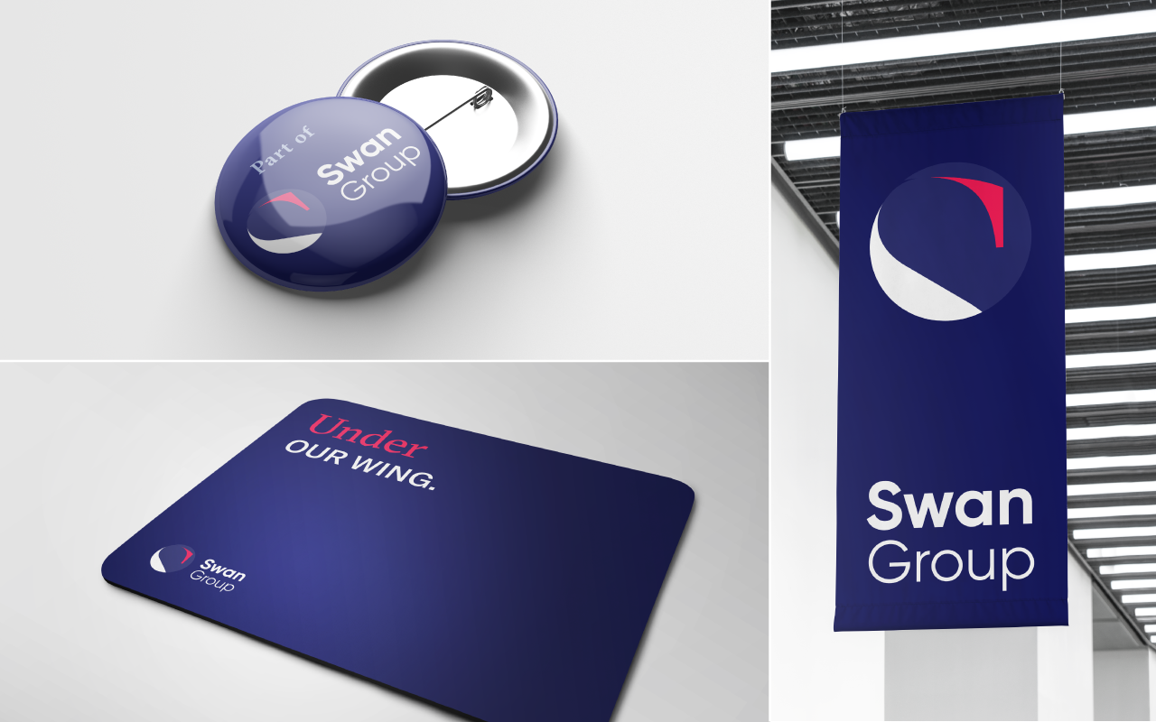 Spearhead - Swan Group Case Study - Stationery - Misc
